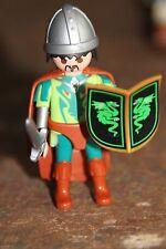Personnage PLAYMOBIL - HOMME château fort chevalier épée guerrier bouclier roi