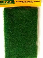 Tappeto erba verde medio alta mm.5 per modellismo cm.30X20 - Krea 603