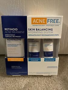 Acne Free Retinoid Skin Balancing Hydrating System Dermatologist Recommend 08/21