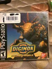 Digimon World (Sony PlayStation 1, 2000)