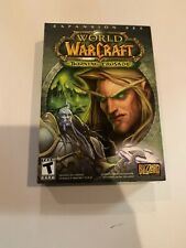 World Of Warcraft Burning Crusade expansion pack for PC or MAC