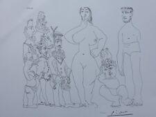PICASSO Pablo - Venus et l'amour  - LITHOGRAPHIE signée #1200ex