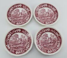 Spode England / Pink Tower / Kuchenteller / Ø 19,5cm / Keramik / #O