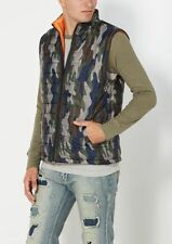 Men light nylon puffer vest camo denim supreme levi ice cream jordan sz medium