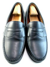 """Allen Edmonds """"CAVANAUGH"""" Men's Penny Loafers 10.5 EEE  Black Made in USA (489)"""