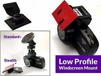 Genuine StealthMounts Low Profile ADHESIVE Windscreen Mount - Nextbase 512G 402G