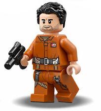 LEGO STAR WARS Poe Dameron MINIFIG new from Lego set #75188 The Last Jedi New