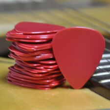 Wholesale Lots of 500pcs Red 0.71mm Medium Smooth Abs Guitar Picks Plectrums