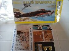 SM79 SAVOIA MARCHETTI 1/48 SMER MODEL+DECALS+2PHOTOETCHED+RESIN WHEEL SET