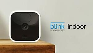 Blink Indoor – wireless, HD security camera with two-year battery life, motion d
