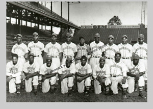 1945 Kansas City Monarchs Team PHOTO Negro League Baseball Players
