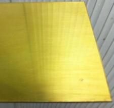 Lastra Lamiera Lamina Ottone Naturale cotto mm 0,5x670x335  spessori guarnizioni