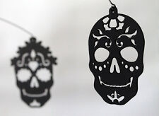 Dia de los Muertos Day of the Dead Black Skull Halloween Modern Hanging Mobile