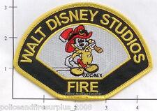 California - Walt Disney Studios CA Fire Dept - Mickey Mouse