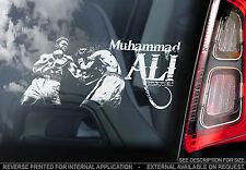 Muhammad Ali-Adesivo con finestra auto-Boxing Champion sign-CASSIUS CLAY/Muhammad