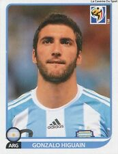 N°120 GONZALO HIGUAIN # ARGENTINA STICKER PANINI WORLD CUP SOUTH AFRICA 2010