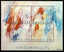 Norway. Stamp Day. Impression of the Countrysied. 1989. Scott 947. MNH