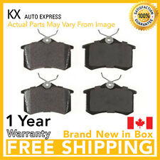 PREMIUM REAR CERAMIC BRAKE PADS VW JETTA 1998 1999 2000 2001 2002 2003 2004 2005