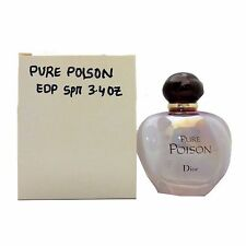 CHRISTIAN DIOR PURE POISON EAU DE PARFUM SPRAY 100 ML / 3.4 FL.OZ. NEW (T)