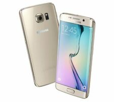 Teléfonos móviles libres Samsung Galaxy S6 edge color principal oro con memoria interna de 32 GB