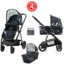 COSATTO WOW BERLIN 3 IN 1 COMBI PUSHCHAIR STROLLER FROM BIRTH