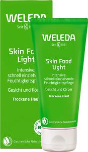 WELEDA Skin Food Light Feuchtigkeitscreme, Naturkosmetik für Gesicht und Körper