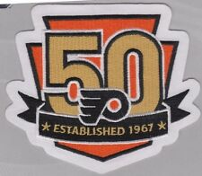 Official Philadelphia Flyers 50th Anniversary Jersey Patch 2016/17 Season