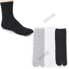 Unisex Tabi Ninja Geta Socks Japanese Style Kimono Sandal Split Toe Sock new