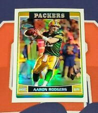 2006 Topps Chrome #14 Aaron Rodgers Refractor - Packers