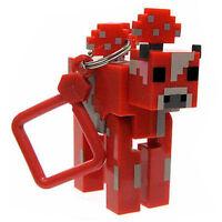 Minecraft Series 2 Mooshroom Keyring Key ring Bag Hangers Mine Craft Toy Figures