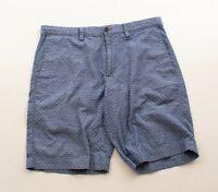 "Banana Republic Blue Woven 10"" Casual Shorts Size 33"