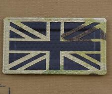 "IR Cordura Laser Cut Patch ""UK Multicam Flag"" with VELCRO® brand hook"