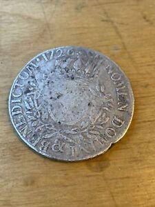 Ecu Argent Louis XV 1726 Piece De Monnaie En Argent