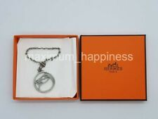 HERMES STERLING SILVER TETE DE CHEVAL BAG AND KEY CHARM / PENDANT - AUTHENTIC
