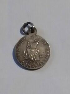 Médaille religieuse argent - Jeanne d'Arc 1412 - 1431 DIEU LE VEUT Domrémy  !