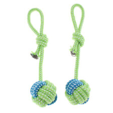 2Pcs Rope Balls for Pet Dogs Give Them A Happy Interactive Playtime