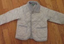 BENETTON LIGHT BLUE BABY QUILTED JACKET 12- 18 MONTHS