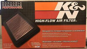 K&N 33-2042 Lifetime Washable Reusable Performance Air Filter - Selected GM Veh.