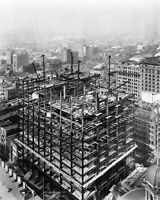 WOOLWORTH BUILDING IN NYC UNDER CONSTRUCTION FEBRUARY 1912 - 8X10 PHOTO (RT597)