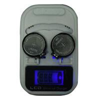 LIR2032LIR2025LIR2016 3.6V Rechargeable Lithium Button Cell Battery Charger xj