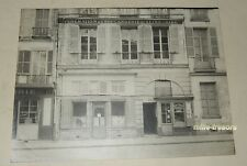 PHOTO ancienne : FEDERATION de la BOULANGERIE de SEINE & OISE + Commerces