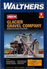 N Scale Walthers Cornerstone 933-3241 Glacier Gravel Company Building Kit