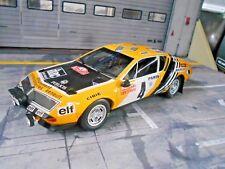 RENAULT Alpine A310 Gr.4 1600 Rallye 1976 Monte Carlo #4 Nicolas OTTO 1:18
