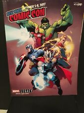 2017 RARE NYCC CONVENTION PROGRAM MARVEL LEGACY AVENGERS NM PROMO GIVEAWAY