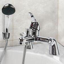 Modern Chrome Sink Bath Shower Mixer Filler Hand-Held Bathroom Tap Tidy Range