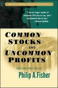 Common Stocks and Uncommon Profits and Other Writings - Paperback - VERY GOOD