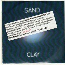 (EQ736) Sand, Clay - 2013 DJ CD