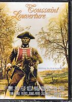 Toussaint L'Ouverture 'The Movie' Haitian History DVD Film French Collection PG