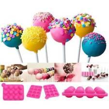 Silicone Cake Mold Lollipop Set Non-Stick Mold Tray Party Cookware