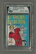 1975 donruss six million dollar man wax pack stickers GIA nm-mt+ 8.5